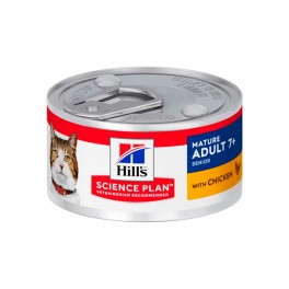 SP FELINE MATURE POLLO 24X82 GR LATAS